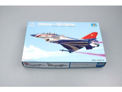Chinese J-10S Fighter 1:72