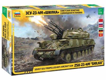 Model Kit military 3635 ZSU 23 4M SHILKA 1 35 a118316447 10374