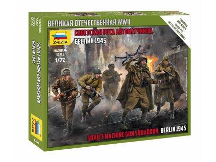 Wargames WWII figurky 6269 Soviet Machine Gun Sqad 1 72 a109312710 10374