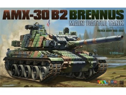 AMX-30B2 BRENNUS French main battle tank 1966-2002 1:35
