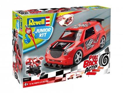 Junior Kit auto 00831 Pull Back Rallye Car cervene 1 20 a109311751 10374
