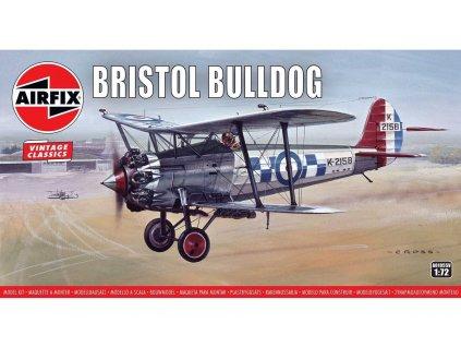 Classic Kit VINTAGE letadlo A01055V Bristol Bulldog 1 72 a99099133 10374