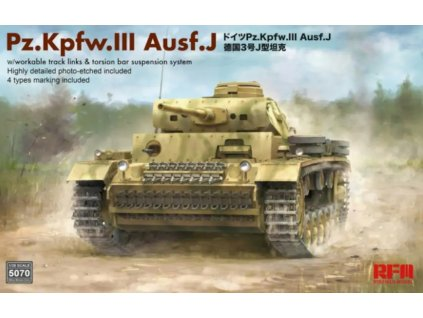 Pz. Kpfw. III Ausf. J with workable track links 1:35