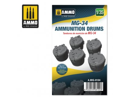 135 mg 34 ammunition drums