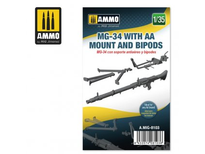135 mg 34 with aa mount and bipods