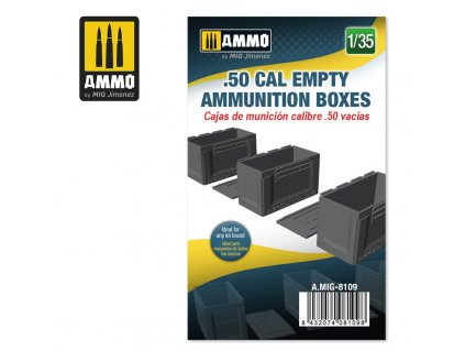 135 50 cal empty ammunition boxes