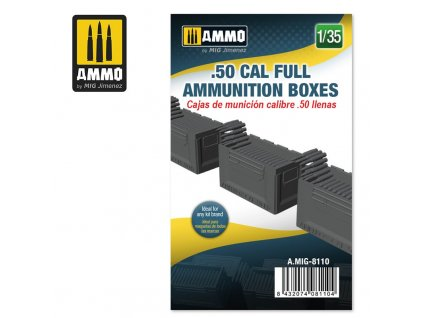 135 50 cal full ammunition boxes