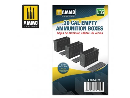135 30 cal empty ammunition boxes