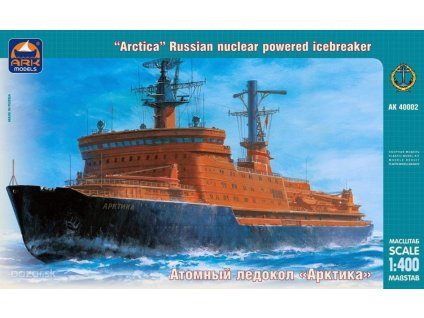 Russian Nuclear Powered Icebreaker Arctica  1:400