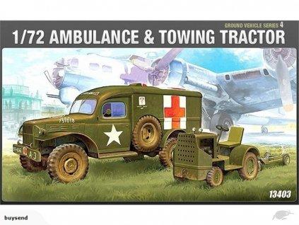 academy 172 wwii us ambulance tractor 13403 vehicle 172 scale m3