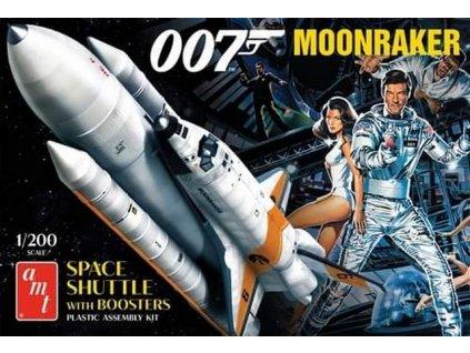 Moonraker Shuttle w/Boosters - James Bond 1:200