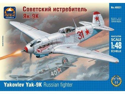 Yakovlev Yak-9K Russian fighter 1:48
