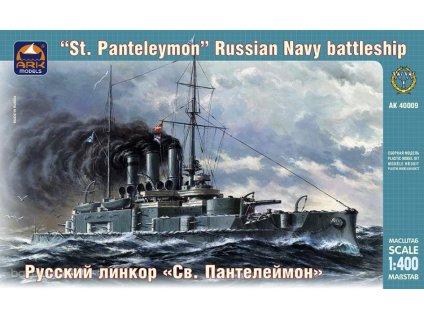 ba orig 3346489363 starozitnosti a zberatelstvo modelarstvo ark models 40009 battleship st panteleymo