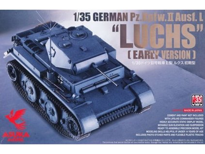 "Pz.Kpfw.II Ausf.L ""Luchs"" (early) 1:35"