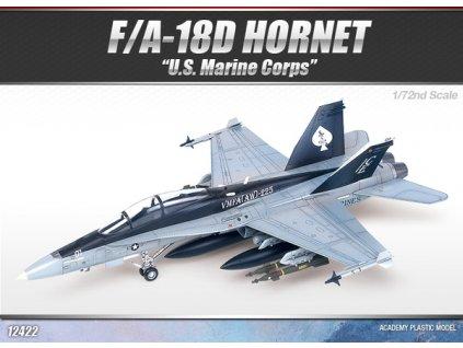 """F/A-18D Hornet """"US Marines"""" 1:72"""
