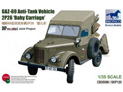 GAZ-69 Anti-Tank Vehicle 2P26 'Baby Carriage' 1:35