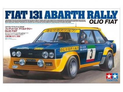 Fiat 131 Abarth Rally Olio Fiat 1:20
