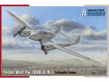 Focke Wulf Fw 189B Uhu Trainer 1:72