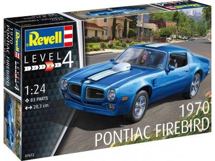 Plastic ModelKit auto 07672 1970 Pontiac Firebird 1 25 a119007334 10374