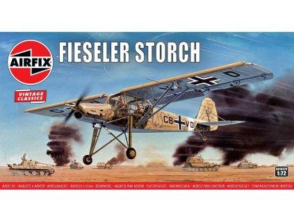 Classic Kit VINTAGE letadlo A01047V Fiesler Storch 1 72 a99099052 10374