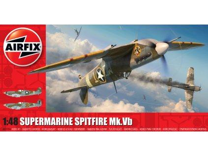 Classic Kit letadlo A05125A Supermarine Spitfire Mk Vb 1 48 a109444797 10374