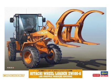 Hitachi Wheel Loader ZW100-6 1:35