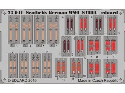 Upínacie pásy Nemecko 1. sv. v. OCEL 1:72