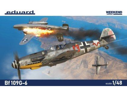 84173 Bf109G6 BOX PRINT víko krabice