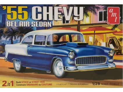 1955 Chevy Bel Air Sedan 1:25