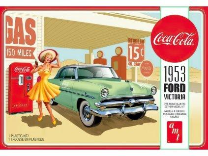 1953 Ford Victoria Hardtop w/Coca-Cola Machine 1:25