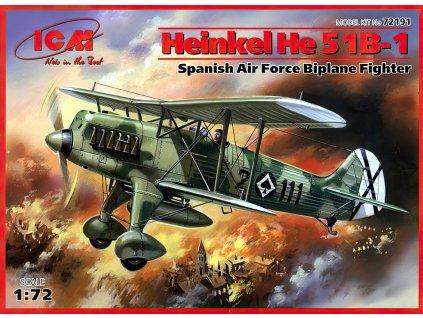 Heinkel He 51 B-1 1:72