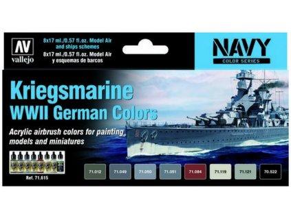 Model Air Set (NA)71615 Kriegsmarine WWII German Colors