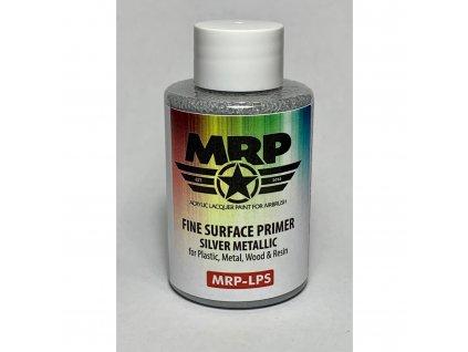 MRP-LPS Fine Surfacer Primer - Silver Metalic 50ml