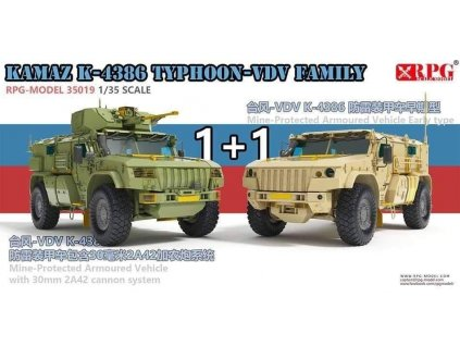 KAMAZ K-4386 Typhoon-VDV Family 1:35
