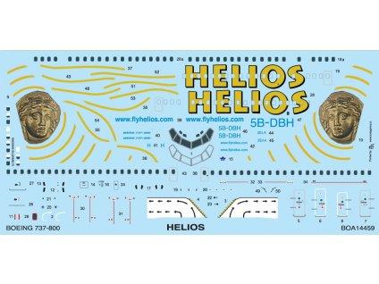 Boeing 737-800 Helios (Revell) 1:144