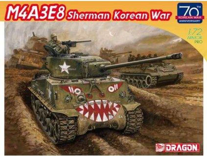Model Kit tank 7570 M4A3E8 SHERMAN Korean War 70th Anniversary 1 72 a114566496 10374