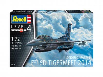 Plastic ModelKit letadlo 03844 Lockheed Martin F 16D Tigermeet 2014 1 72 a119007250 10374