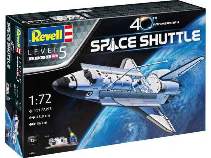 Gift Set vesmir 05673 Space Shuttle 40th Anniversary 1 72 a119007544 10374