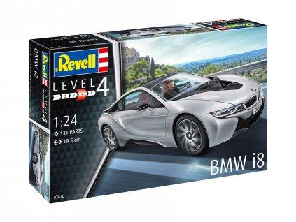 Plastic ModelKit auto 07670 BMW i8 1 24 a109310063 10374