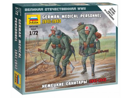 Wargames WWII figurky 6143 German Medical Personnel 1941 43 1 72 a63855974 10374
