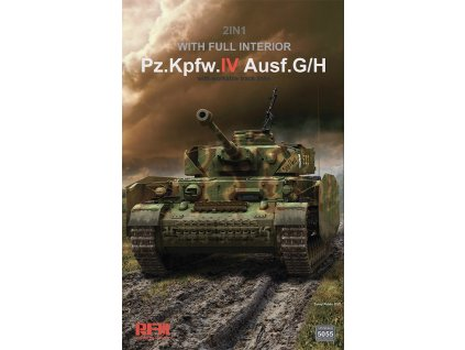 Panzer IV Ausf.G/ H 2in1 with full interior 1:35