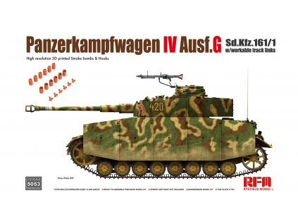 Panzer IV Ausf.G w/ workable track links 1:35