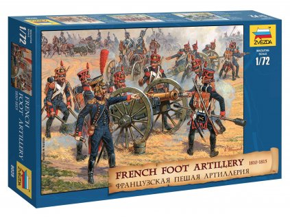 Wargames AoB figurky 8028 French Foot Artillery 1812 1814 1 72 a63857792 10374