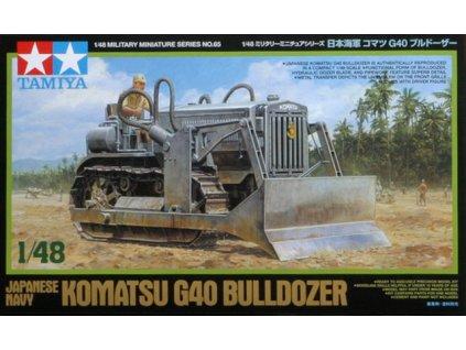 Komatsu G40 Bulldozer 1:48