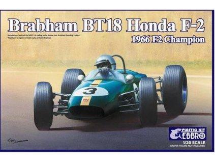 Brabham BT18 Honda F2 1966 F2 Champion 1:20