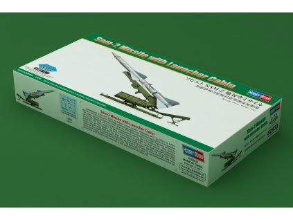 Sam-2 Missile with Launcher Cabin 1:72