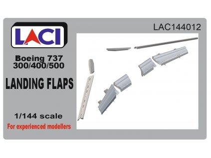 B737-300/400/500 Landing Flaps 1/144