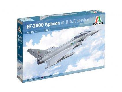 Model Kit letadlo 1457 Eurofighter Typhoon EF 2000 In R A F Service 1 72 a123619454 10374