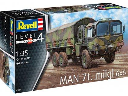 Plastic ModelKit military 03291 MAN 7t Milgl 1 35 a119007418 10374