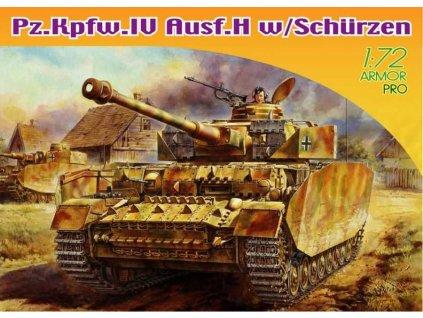 Model Kit tank 7497 Sd Kfz IV Ausf H 1 72 a64298394 10374